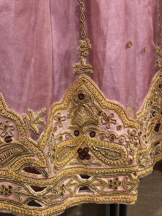 Pink Lehenga party dress/wedding dress - image 4