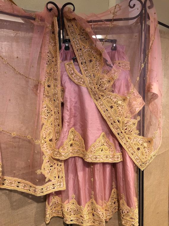 Pink Lehenga party dress/wedding dress - image 1