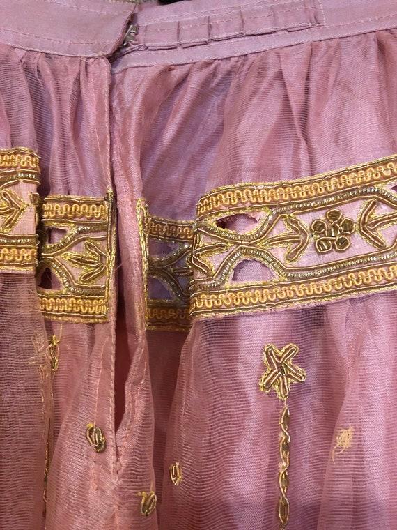 Pink Lehenga party dress/wedding dress - image 9