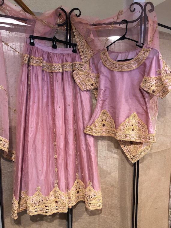 Pink Lehenga party dress/wedding dress - image 2