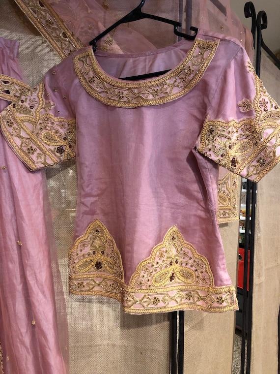 Pink Lehenga party dress/wedding dress - image 5