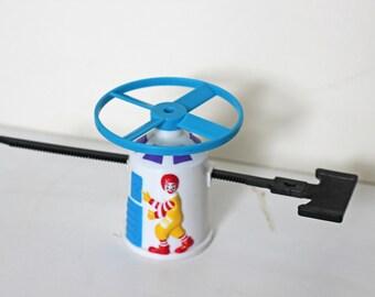Vintage 1992 Ronald McDonald Plastic Launcher