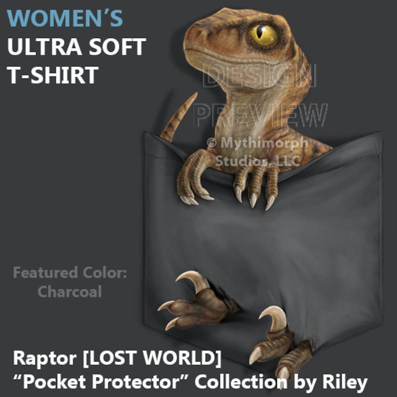 Women's Ultra Soft T-Shirt: Raptor LOST WORLD image 0