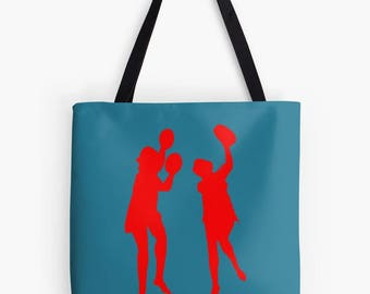 Whitley Bay-Spanish City- Dancing ladies designed Tote Bag