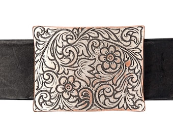 Antique Copper End Bar//Harness Buckle Made By Century Canada