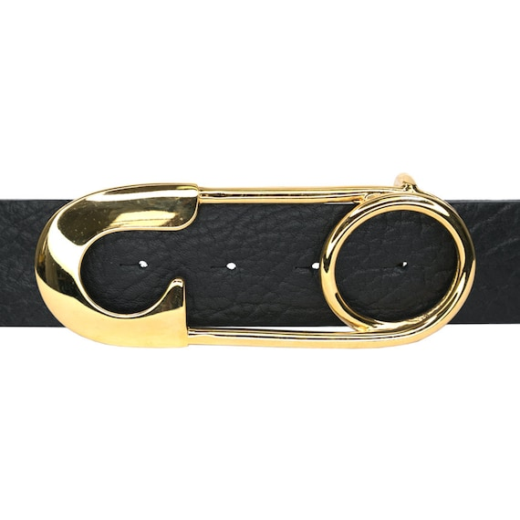 Gold Safety Pin Belt Buckle
