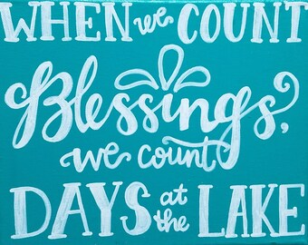 Lake Blessings