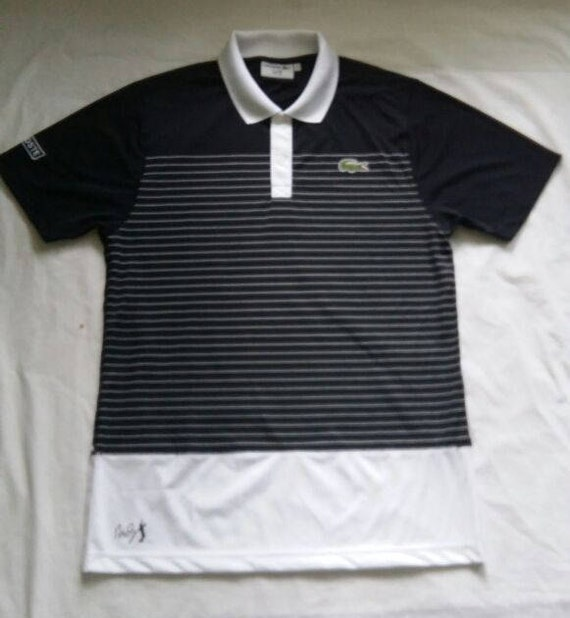 00779f20cab1f Lacoste Sports Andy Roddick mens polo shirt Men s Size 5 4   Etsy