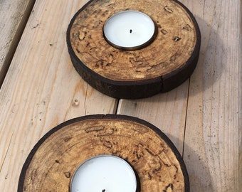 Circular Candle Holders, Set of 3