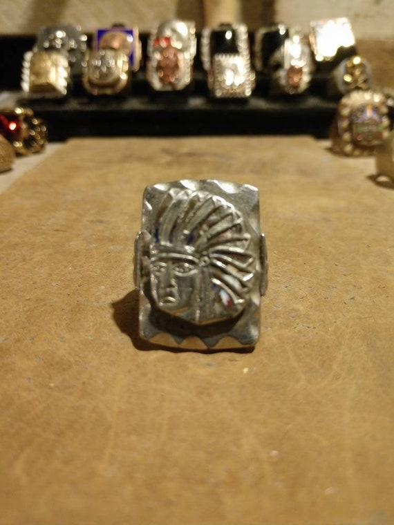 Authentic mexican biker ring Chief