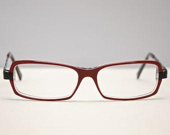 88e516f7cf0c Vintage JEAN LAFONT Metal and Plastic Eyeglasses   Model  Graziella 650    Retro Collectable Rare  1631