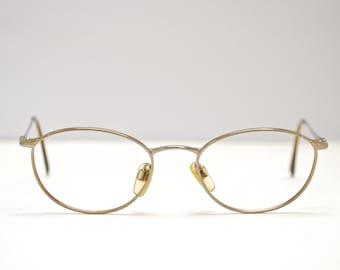 90fa7e5c2e5 Vintage EMPORIO ARMANI Oval Eyeglasses   Italy   Model  188 907   Retro  Collectable Rare  1831