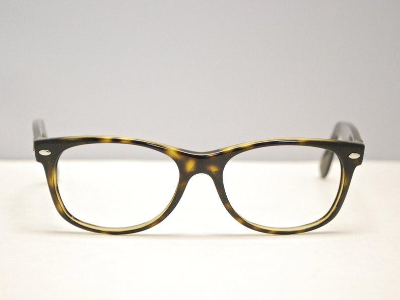 2aae20cd23551 RAY BAN Eyeglasses New Wayfarer Tortoise Frames / Model #RB 2132 / Retro  Collectable Rare #1606