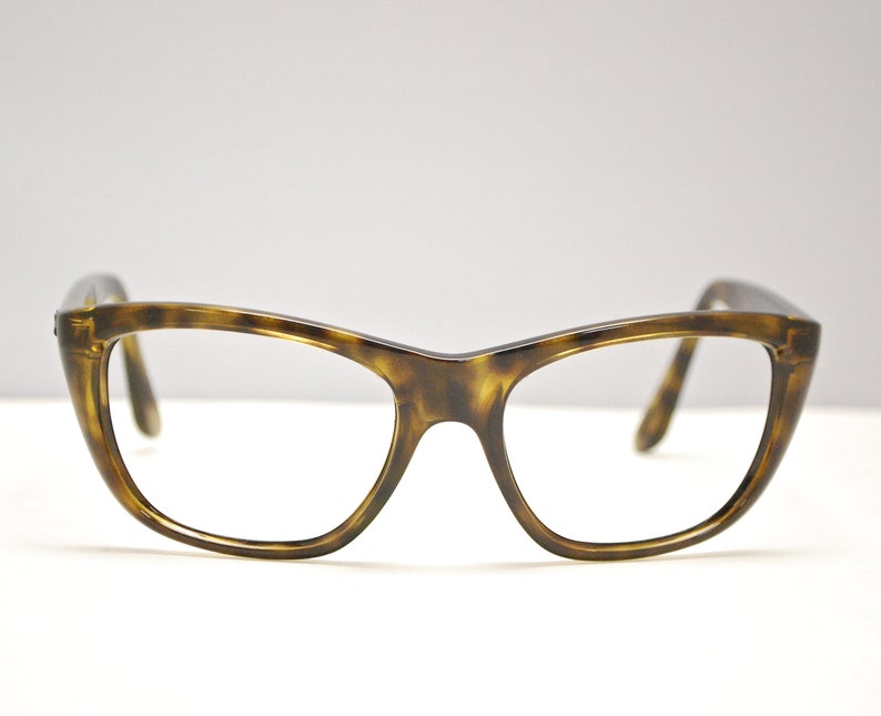 69a6ac72d7426 RAY BAN Eyeglasses Wayfarer Style Tortoise Frames / Made in Italy / Model  #RB 4154 / Retro Collectable Rare #1605