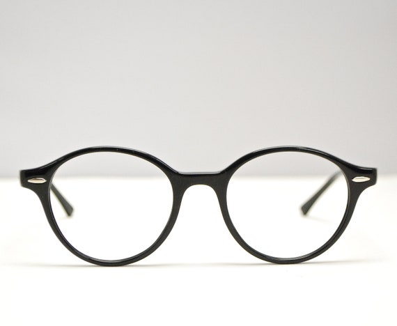 43d2107120 Deadstock RAY BAN 80 s Style Black Eyeglasses Nos   Model  RB 7118   Retro  Collectable Rare  1674