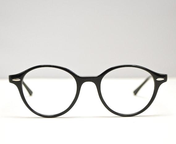 b9da4e720d6 Deadstock RAY BAN 80 s Style Black Eyeglasses Nos   Model