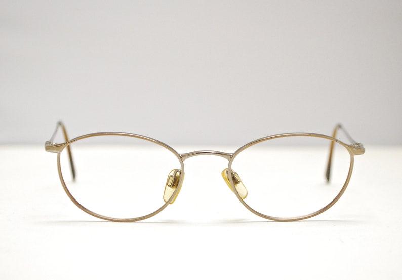 ae8a83fabcc11 Vintage EMPORIO ARMANI Oval Eyeglasses / Italy / Model# 188 907 / Retro  Collectable Rare #1831