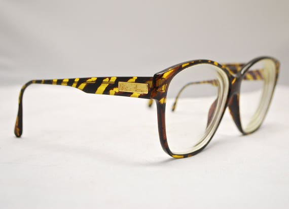 a47318aab364c Vintage PALOMA PICASSO Eyeglasses Tortoise Frames / Model# 3705 10 / Retro  Collectable Rare #1406