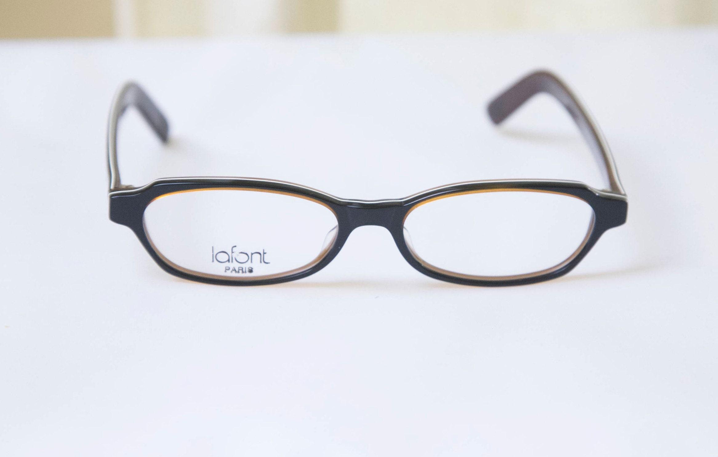 Jahrgang JEAN LAFONT Brillen Rahmen / Modell Epoque 002 / | Etsy