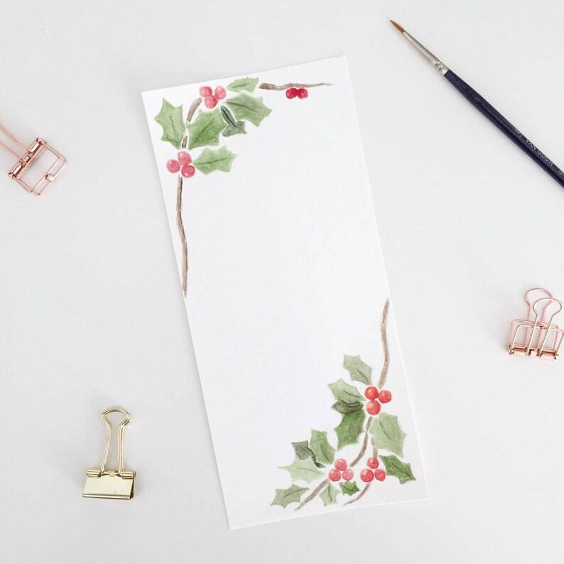 Gemalte Weihnachtskarten.Weihnachtskarte Mit Aquarell Ohne Text Gemalt Zum Download Und Zum Ausdrucken