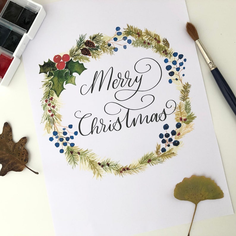 Downloadable film for Christmas decoration. Merry Christmas image 0