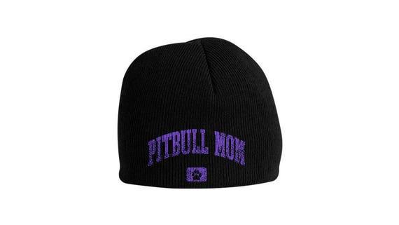 Pitbull Mom Beanie