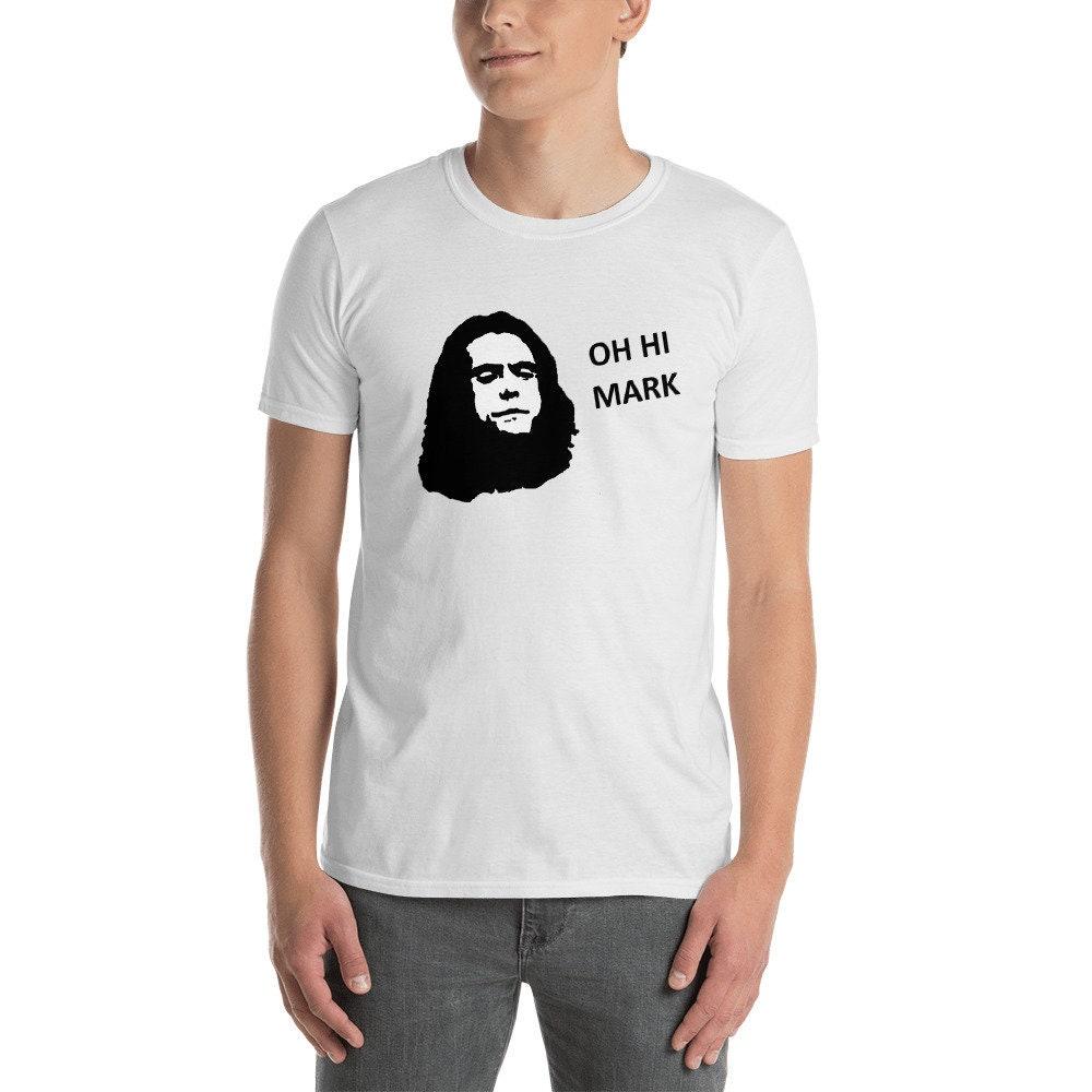 Oh Salut courtes marque manches courtes Salut T-Shirt unisexe 059f64