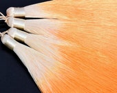 2 Pcs - 5.12 quot 13CM Orange Tassel Polyester 1.1CM Thickness Handcraft High Quality Tassels (60789)