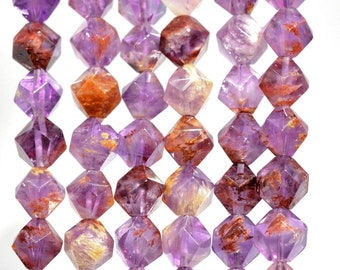 31x52x6mm 90 Cts Natural Star Amethyst Slice Loose Stone