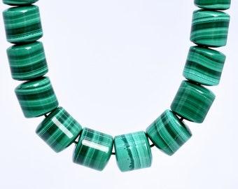 """8 mm Fashion synthétique Malachite Ronde Pierres Précieuses Perles Extensible Bracelet 7.5/"""""""