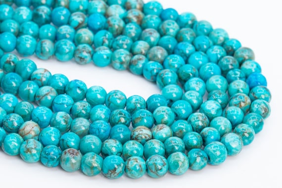 2pcs 7~12mm Colorful Turquoise Natural Stone Gemstone Loose Teardrop Beads