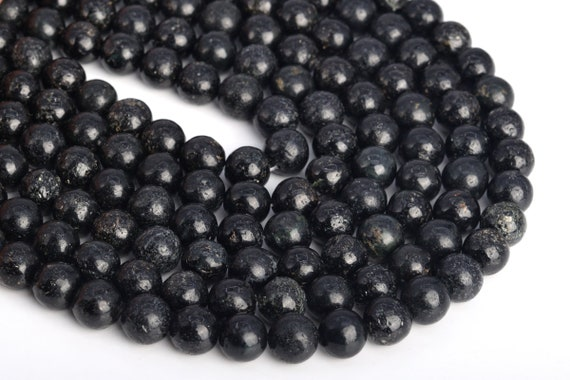 8X5MM  BIOTITE GEMSTONE RONDELLE LOOSE BEADS 16/""
