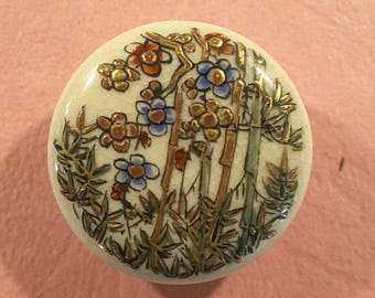 Early 1900's Satsuma button.
