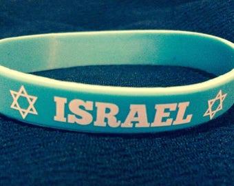 ISRAEL Rubberband Bracelet