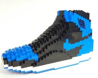 Lego Air Jordan 1 ROYAL with Jordan Minifigure (700+ pieces)