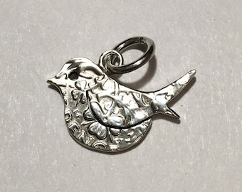 Little Bird Sixpence Pendant