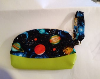 Sky is no limit with this colorful clutch Universe constantly in for front