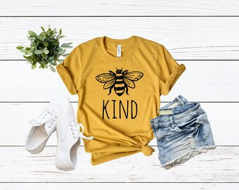 74dd1710a97eec Be Kind Shirt | Bee Kind | Be Kind Shirt | Mom Life | Mom Tee | Graphic Tee  | Happiness Matters | Be Nice | Honey Bee | Bella Canvas Shirt