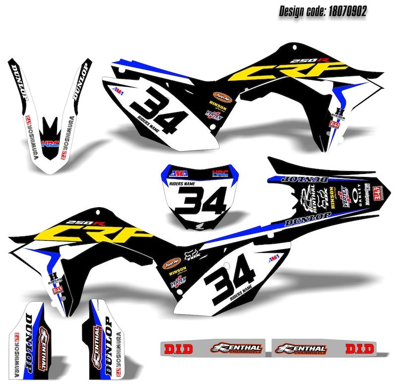 Yamaha YZF 450 MX Motocross 2010 2011 2012 2013 Template vector EPS