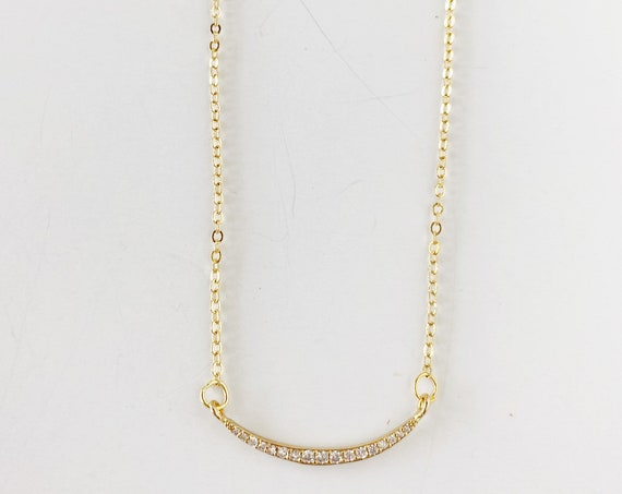 Golden Arch Necklace