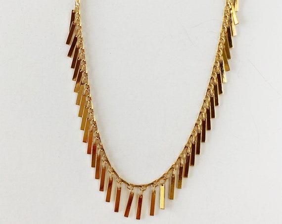 Golden Sparkle Necklace