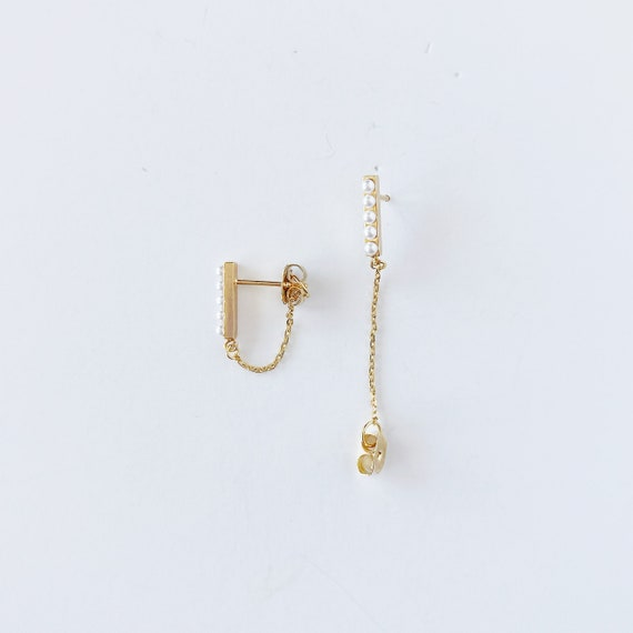 The Avery Chain Studs, more options available