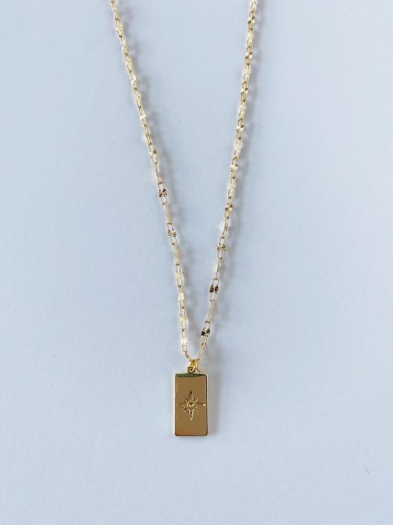 Golden Star Sparkle Necklace