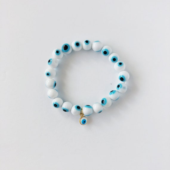The Evil Eye Bracelet in Cloud