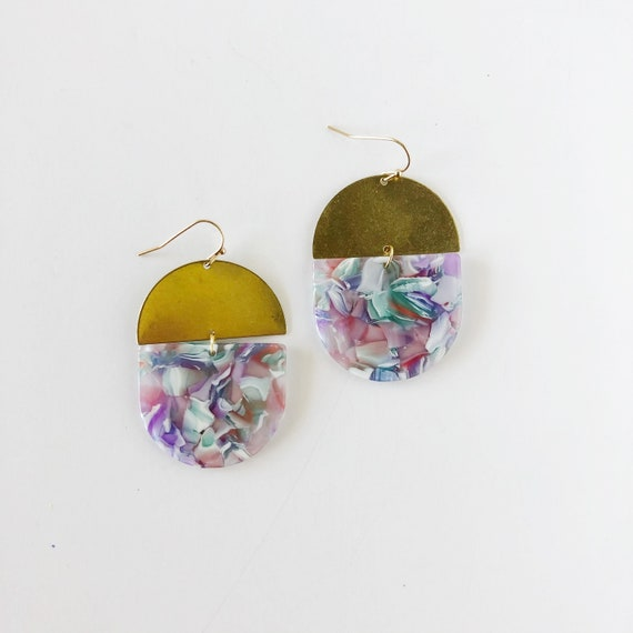 The Jill Earrings, more colors available