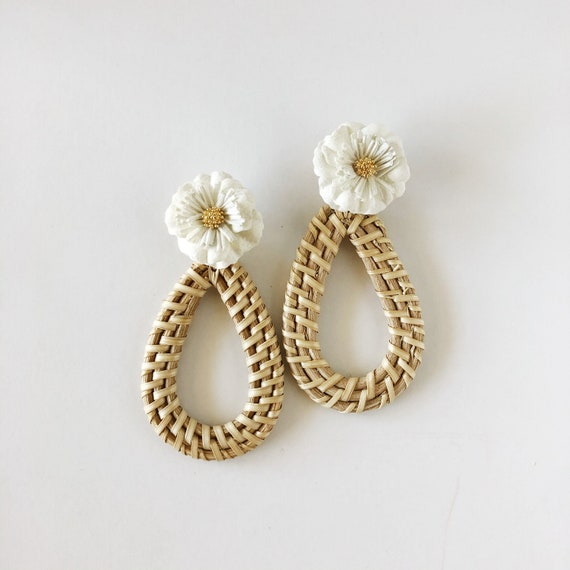The Magnolia Earrings