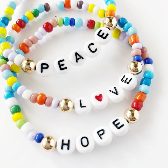 The Name Bracelet in the Hope for All Collection