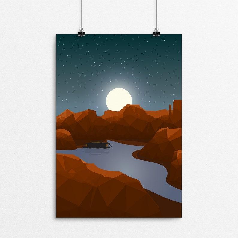 Lake Powell Nights // 8x10 Print image 0