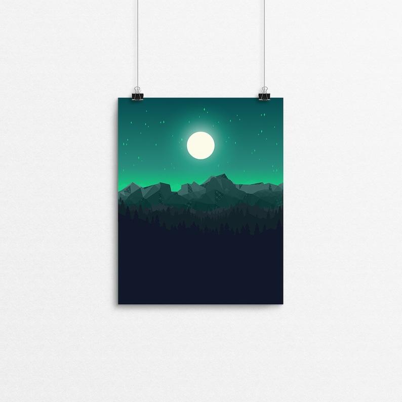 Tartan Twilight // 8x10 Print image 0