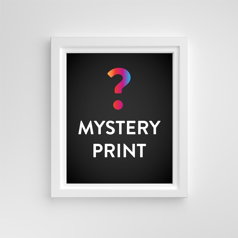 Mystery Design 3-Pack // 4x6 Print image 0